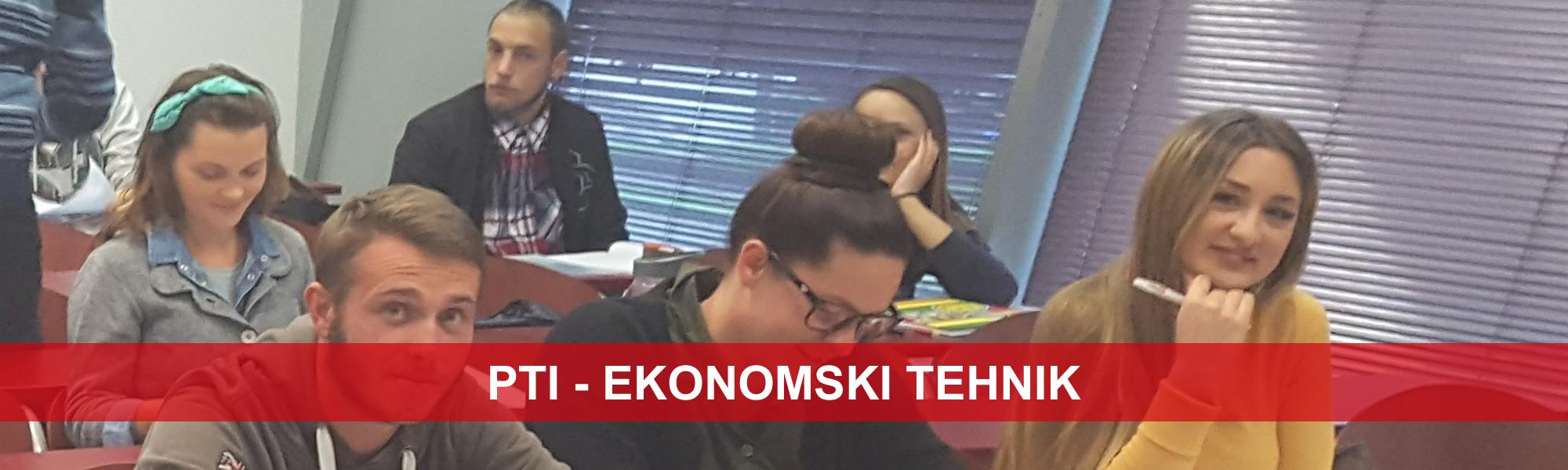 PTI - EKONOMSKI TEHNIK